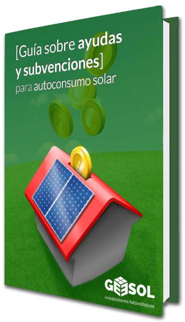 guia subvenciones autoconsumo solar